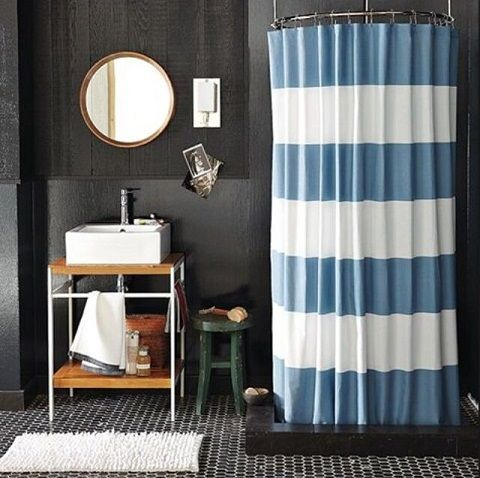 gri mavi dekorasyon fikirleri banyo tuvalet duvar fayans (2)