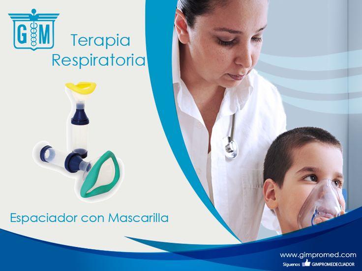 Gimpromed - Catálogo Terapia Respiratoria - Terapia Aerosol Producto: Espaciador con Mascarilla