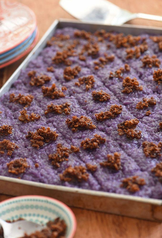 Ube Biko Recipe Filipino Food Dessert Ube Dessert Recipe Filipino Desserts