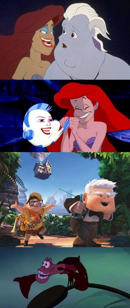 More Disney Face Swaps! - Pop Culture - funny celebrity ...