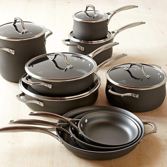 Calphalon Elite Nonstick 15 Piece Cookware Set Kitchen