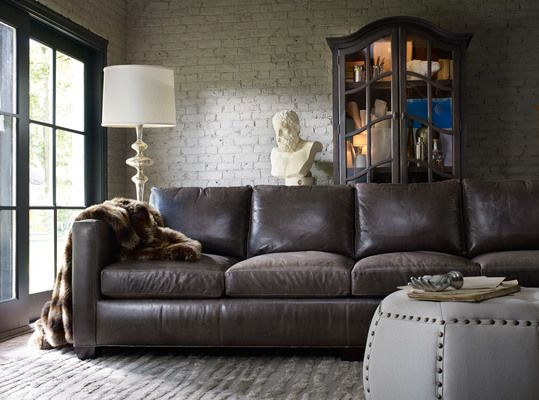 #bradington Young Furniture #leather