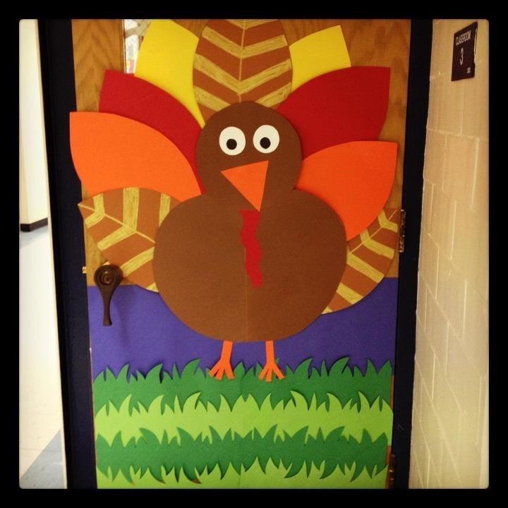 Thanksgiving door decoration!
