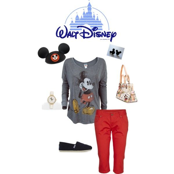 3.Disney Outfit inspired by Mickey Mouse by shanna-bailes on Polyvore #momselect #newfantasyland