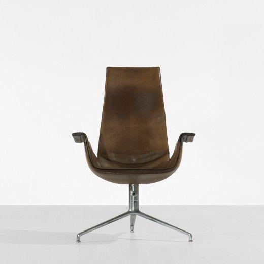 Bird chair by Preben Fabricius and Jorgen Kastholm.