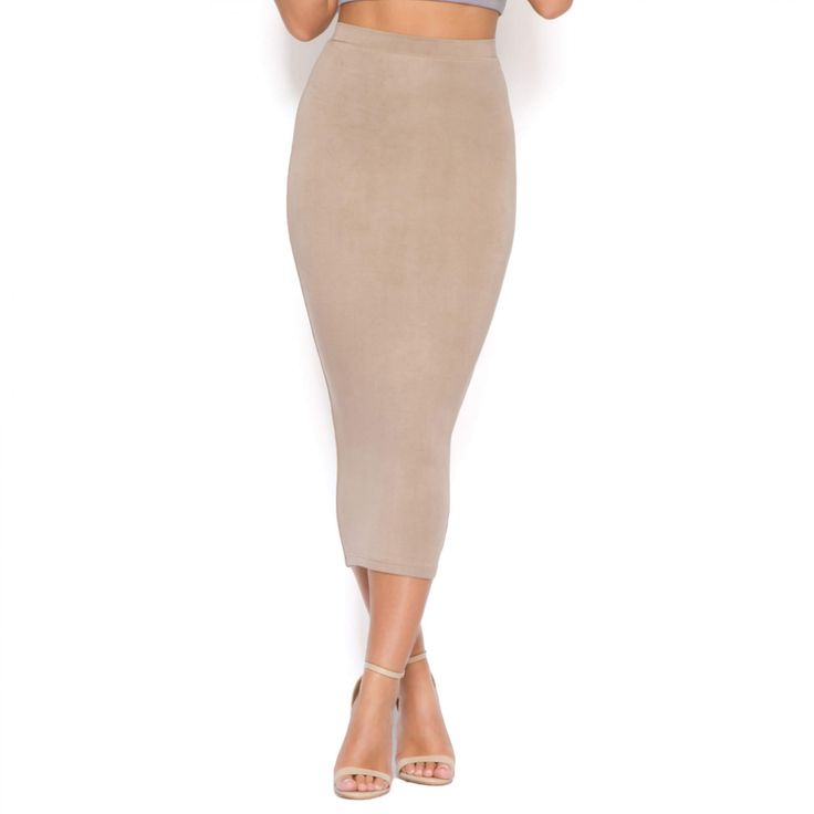 Behind The Curve Bodycon Midi Skirt | Sexy Midi Skirts
