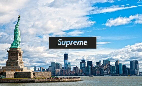 Supreme Box Logo Supreme Poster Supreme Print New York Digital Pring Ny Instant Print Fashion G Supreme Wallpaper Hd Supreme Wallpaper Hype Wallpaper
