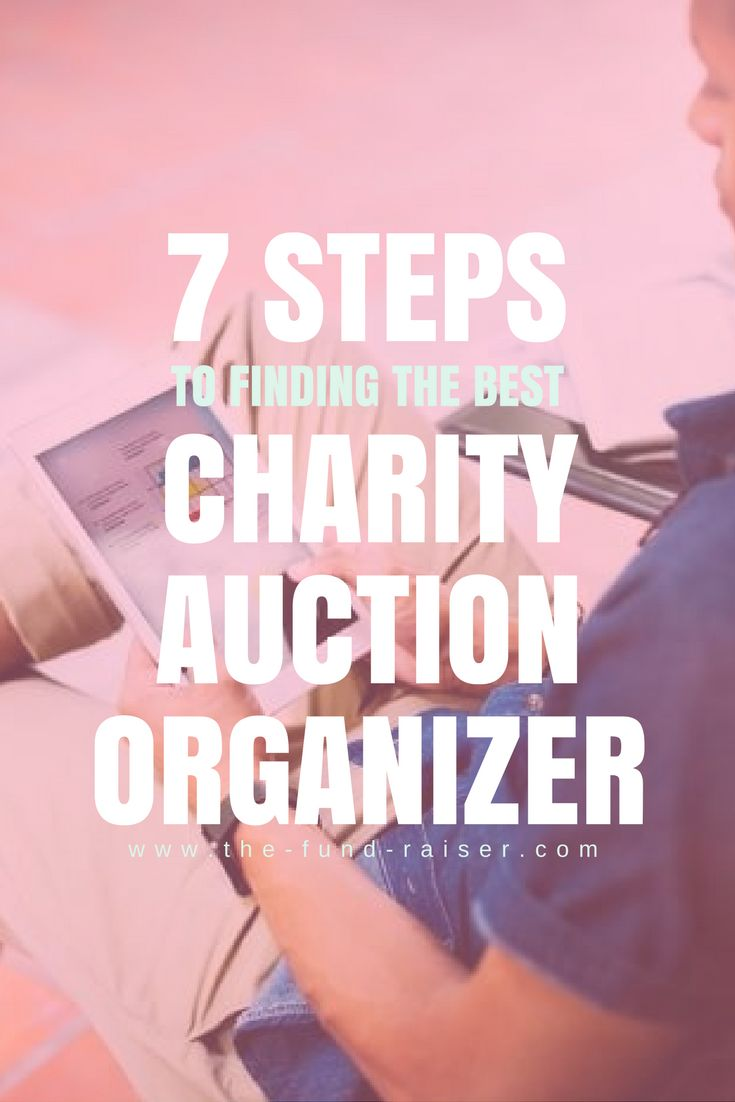 Having a charity auction organizer can be