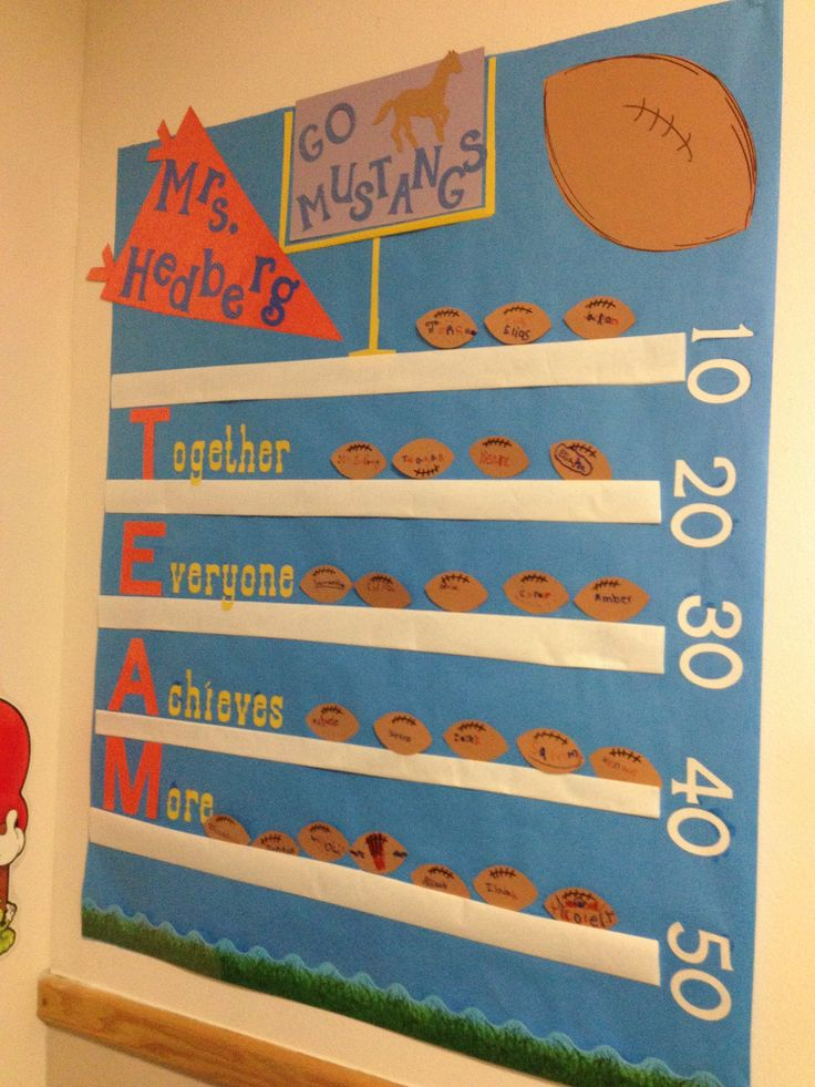 School Classroom Decor Games : Best images about football themed classroom on
