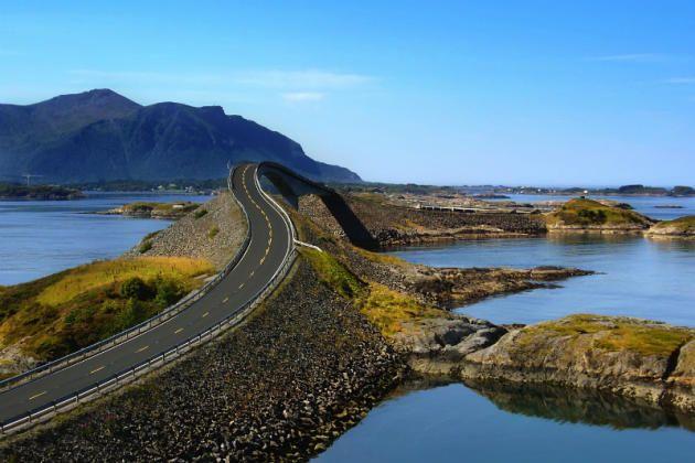 Die schönsten Autostrecken der Welt: Atlantikstraße!