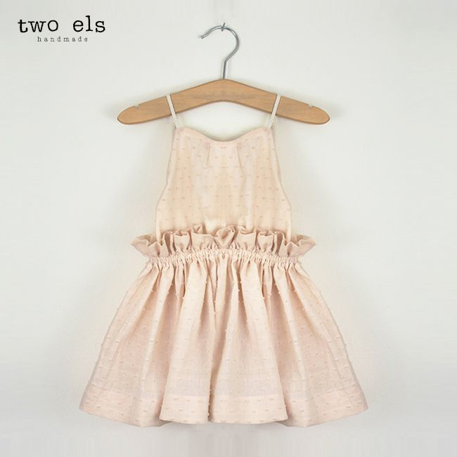 Dancing In The Street Dress (Seashell) by Two Els. www.twoels.com #twoels