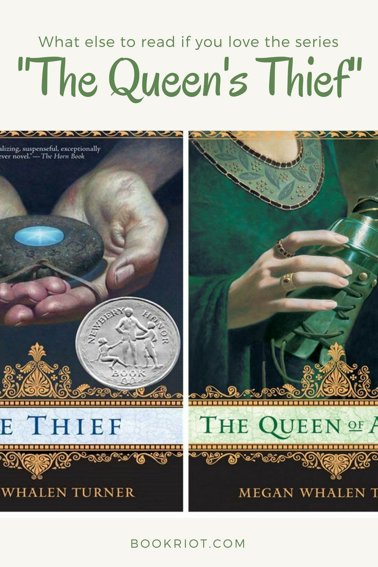 Books For Fans Of The Queen's Thief Series