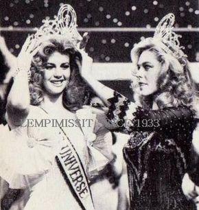 MISS UNIVERSE, 1981 Irene Lailin Saez Conde, Venezuela