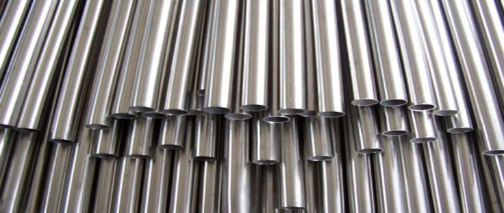 Titanium tube is often used because of its superior chemical resistance, which is well above that of either stainless steel grade 304 or even grade 316.  http://www.neekatubes.net/