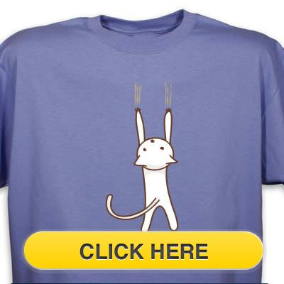 Check our Hang in There T-Shirt to celebrate you #pet #animal#cat love. Just $18.99 + an extra $5off Just Enter Coupon Code: SAVEMORE5 at checkout at  http://www.petproductadvisor.com/store/mc/feeling-wired-tshirt.aspx