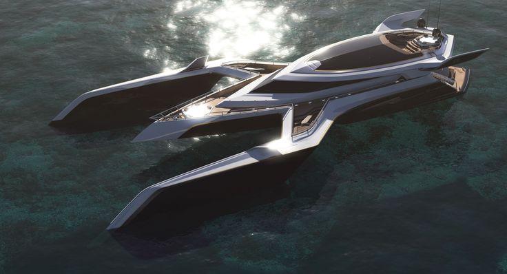 MOTOR YACHT - DESIGN & VISUALIZATION | Freelancers 3D