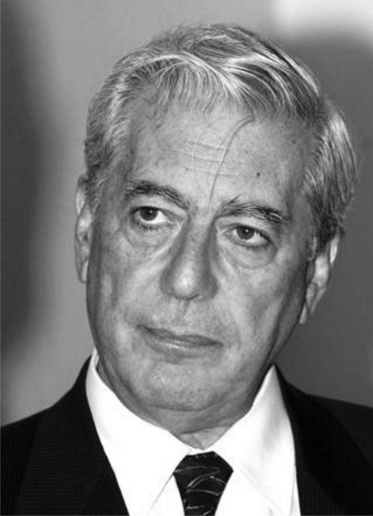 Mario Vargas Llosa  (1936),  Peruvian writer, politician, journalist, essayist, college professor, and recipient of the 2010 Nobel Prize in Literature.