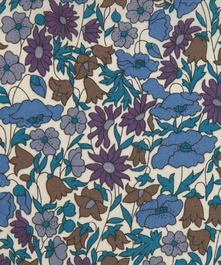 Liberty Art Fabrics Poppy And Daisy K Tana Lawn | Fabric by Liberty Art Fabrics | Liberty.co.uk