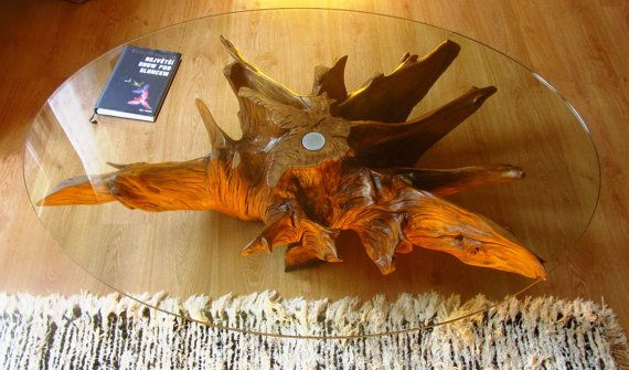 Wild Oak Roots Coffee Table by FeralRoots on Etsy, €1395.00