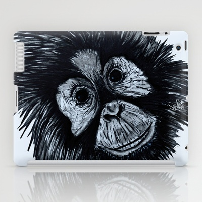 In the beginning iPad Case by Vee Ladwa - $60.00