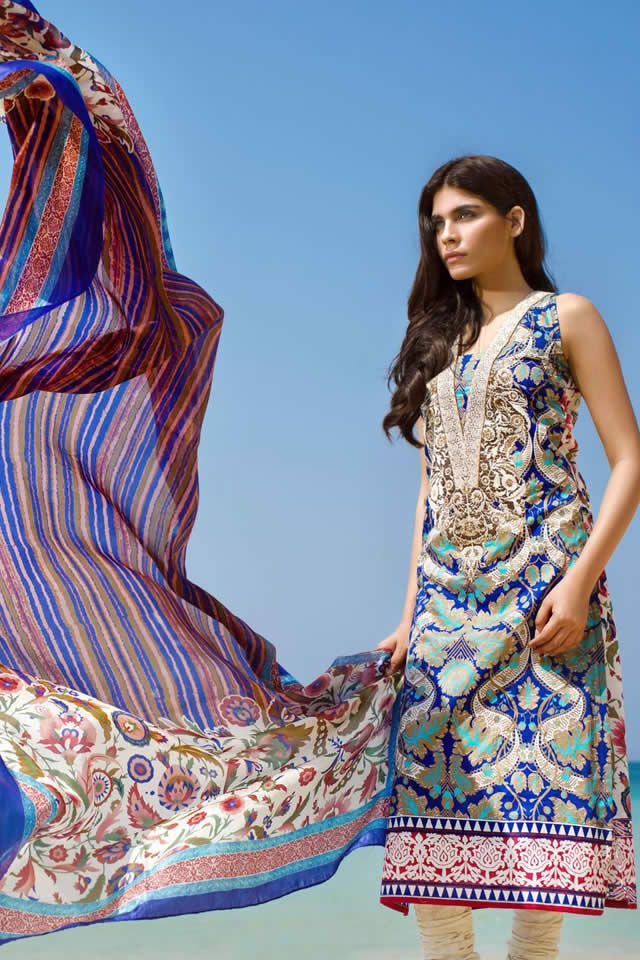 Sana Safinaz Spring Summer 2015 Lawn Collection
