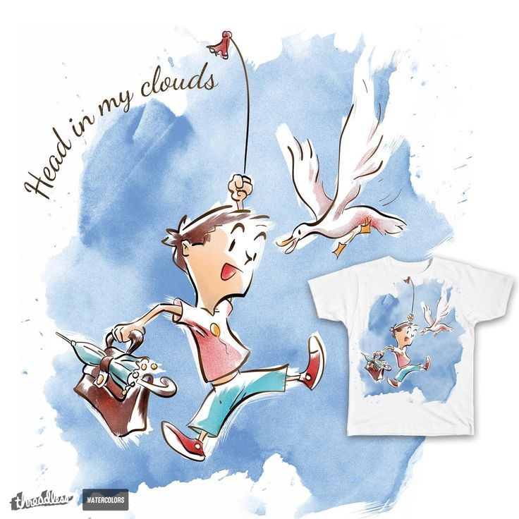 Head in my clouds on Threadless