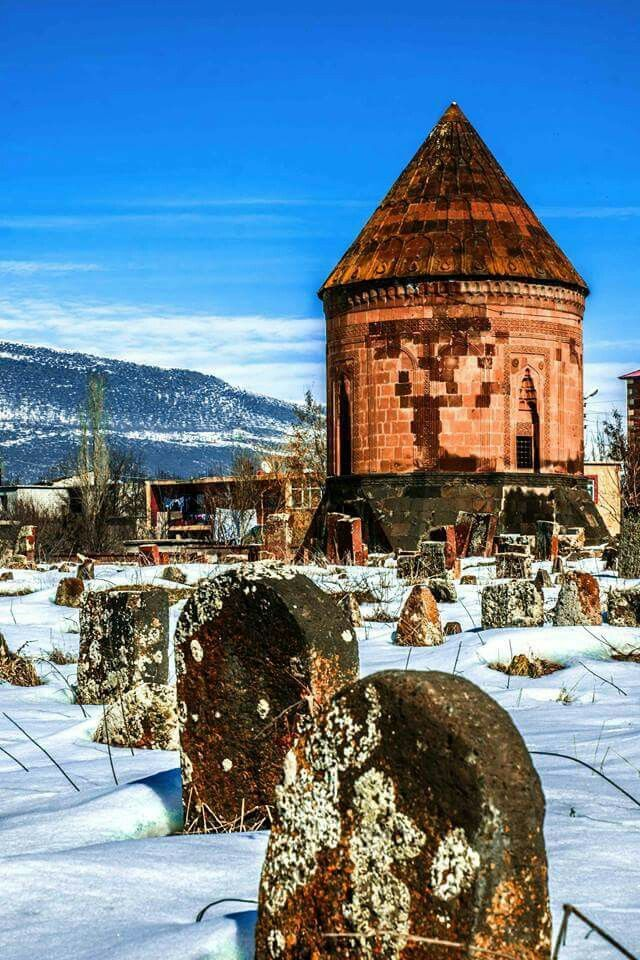 Former Armenian Church Crosses removed once Kilikia Armenian Kingdom now east turkey  Bitlis