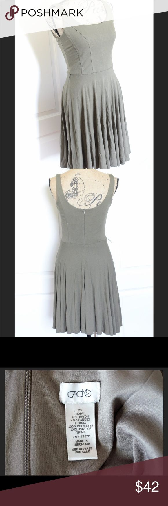 Cache Olive Day Dress Cache Olive Day Dress Great Staple To Have In Your  Closet How