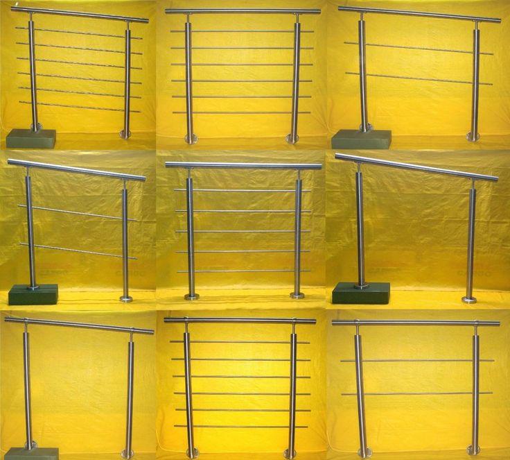 Edelstahl Geländer Handlauf Treppengeländer Balkongeländer V2A Treppe Bausatz | Business & Industrie, Baugewerbe, Baustoffe & Bauelemente | eBay!