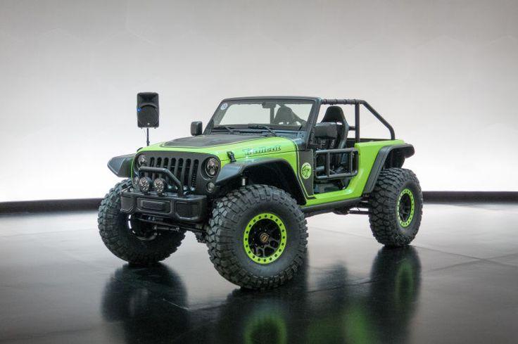 Jeep Truck >> Jeep Fires Up Hellcat-Powered Wrangler Trailcat... | truck | Pinterest