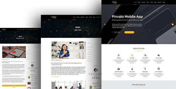 "cool De #Envato: ""Pinvato Mobile App - PSD Plantilla """