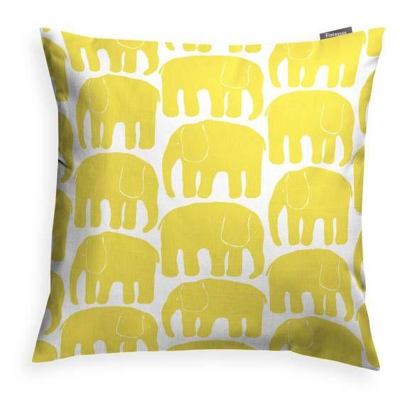 Elefantti-koristetyyny - Finlayson verkkokaupasta