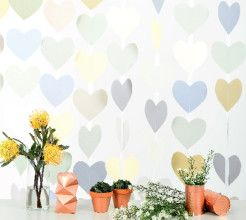 Heart garlands #Free #Printable #SouthAfrica