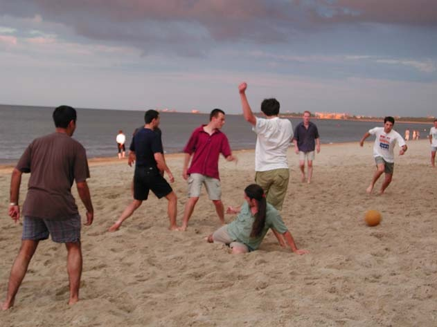 #Football on the #beach, #Gdansk