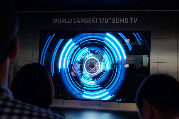 Samsung 170-inch SUHD Television
