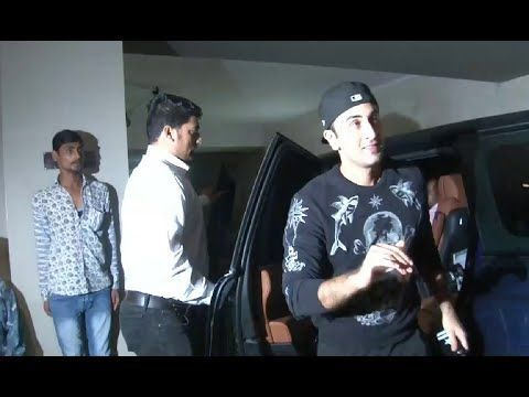 Ranbir Kapoor at special screening of KAPOOR & SONS movie at Light Box.