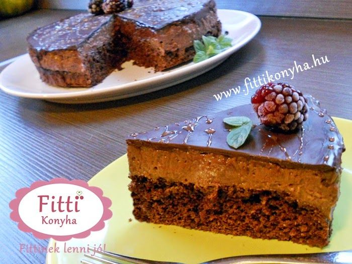 Fitti Konyha: Fitti csokitorta recept - Tej és tojás nélkül