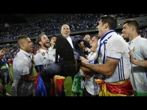 Full Celebracion Real Madrid Campeones 33 Liga Española