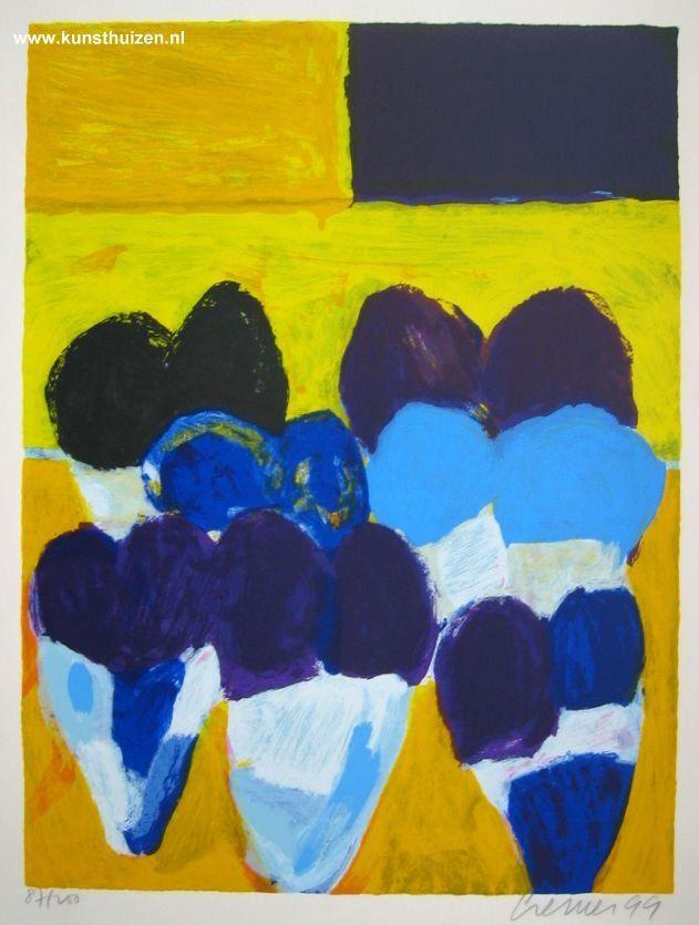 Tulpen 04-99 door Jan Cremer - Te huur/te koop via Kunsthuizen.nl