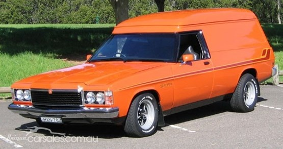 ◆ Visit MACHINE Shop Café... ◆ ~ Aussie Custom Cars & Bikes ~ (1978 HZ Holden Sandman Van)