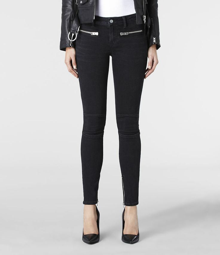 AllSaints Hart Biker Pants | Womens Jeans
