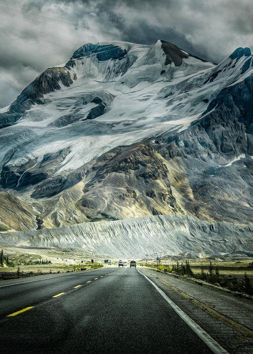 Icefields Parkway,Alberta, Canadá … ver más aquí …...                                                                                                                                                                                 Más
