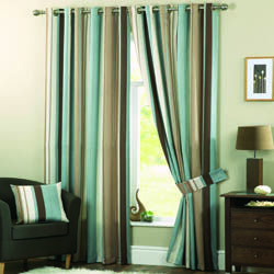 Whitworth Duck Egg Eyelet Curtains