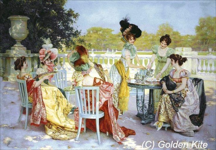 Tea Party parisina
