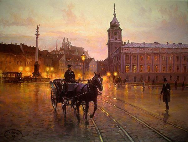 Malarstwo - Mirosław Szeib - galeria autorska obrazów olejnych
