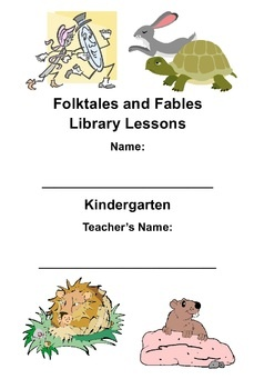 $2 - Kindergarten - Printable reading response booklet and lesson plan for a variety of folktale and fable books representing various cultures.  Can be used in library or classroom.