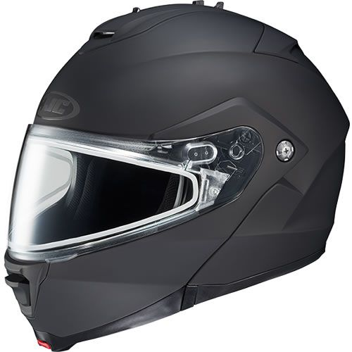 HJC IS-MAX II Solid Modular Snowmobile Helmet: First Place Parts  #hjc #helmet #snowmobile #snow #safety #winter #firstplaceparts #motorcycle