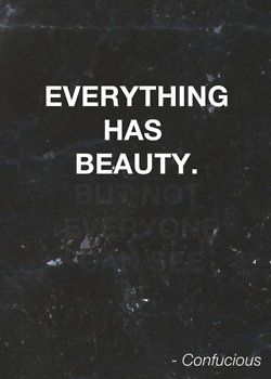 Truth. beauty quote inspo