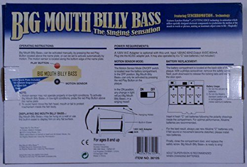 Big Mouth Billy Bass the Singing Fish