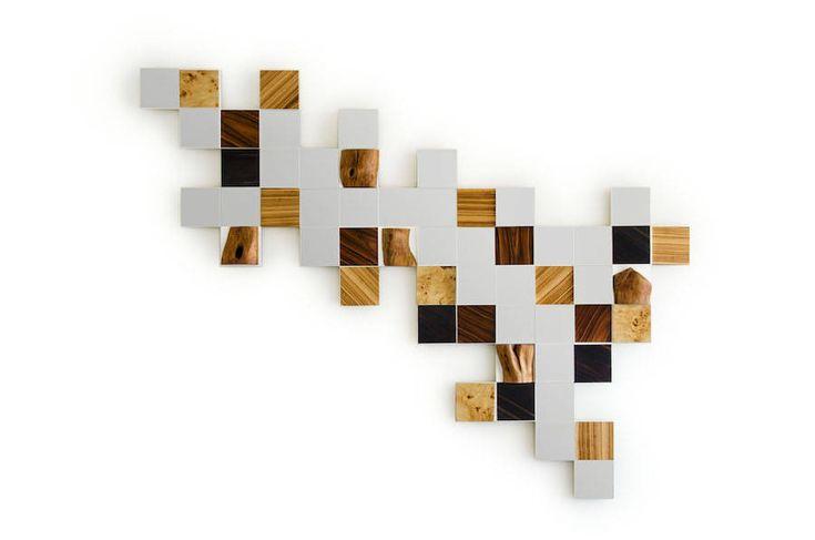 Modular Collage Tiles Mirrors